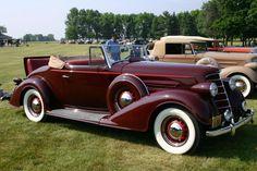 1934 Oldsmobile convertible
