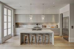 111 Ideen für Design Küche mit Kochinsel - Funktionale Eleganz
