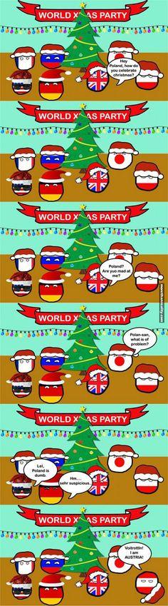 Countryball Christmas   #polandball #countryball #flagball