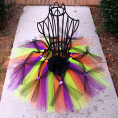 Clearance Halloween Toddler Tutu Size to by TulleMeAboutIt Kids Tutu, Toddler Tutu, Tutus For Girls, Witch Tutu Costume, Rave Costumes, Holidays Halloween, Halloween Fun, Halloween Costumes, Toddler Girl Halloween
