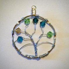 MOTHER'S DAY IDEA... Custom Family Tree Necklaces by TheShaylaShop on Etsy, $15.00