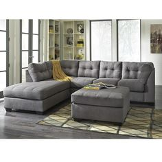 Left arm facing chase. IN LOVE with this couch. Would love the ottoman too but not a must.