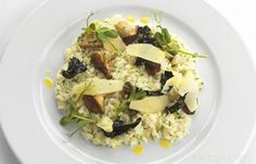 Mushroom Risotto with Parmesan & Truffle Oil - Great British Chefs