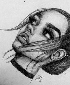 Рисунки drawing в 2019 г. ötletek rajzoláshoz, művészi rajzok и hogyan rajz Tumblr Drawings Easy, Easy Drawings Sketches, Pencil Art Drawings, Amazing Drawings, Beautiful Drawings, Cute Drawings, Girl Drawings, Drawing Girls, Drawing People
