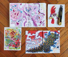 Del cuaderno a la calle Abril, Día 11 Margarita Cubino https://www.behance.net/margaritacubino