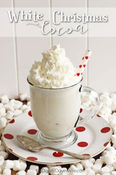 White Christmas Cocoa by Diary of Daves Wife on iheartnaptime.com