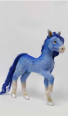 Needle felted horse Layla by mishmashim on Etsy, $220.00