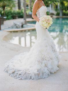 Elegant Florida Keys Wedding at The Caribbean Resort: http://www.stylemepretty.com/florida-weddings/florida-keys/islamorada/2014/09/08/elegant-florida-keys-wedding-at-the-caribbean-resort/   Photography: Bob Care - http://careweddings.com/