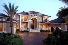 Love. Stunning Two-Story Luxury Home Plan.