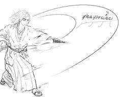 gnayproject l design project samurai illust