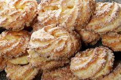 Aprenda a fazer Receita de biscoito Samanta , Saiba como fazer a Receita de biscoito Samanta , Show de Receitas Portuguese Desserts, Portuguese Recipes, Cookie Recipes, Snack Recipes, Snacks, Good Food, Yummy Food, Cookies, Yummy Cakes