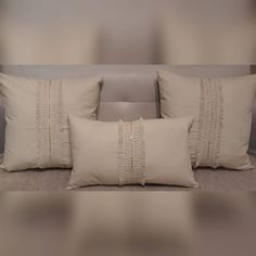 Boho Chic, Chill, Bed Pillows, Pillow Cases, Craft Ideas, Natural, Diy, Tablecloths, Needlepoint