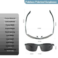 82fa7689b9a Gifts for Cyclists Women - Men s Polarized Sunglasses