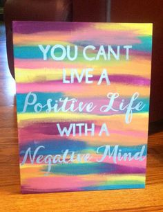 You can't have a good day with a bad attitude, and you can't have a bad day with a good attitude!