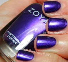 Let them have Polish!: Zoya NYFW Designer and Diva Collection Swatches for Fall 2012