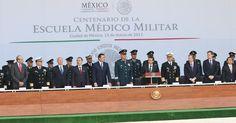 IPN presente en el Centenario de la Escuela Médico Militar