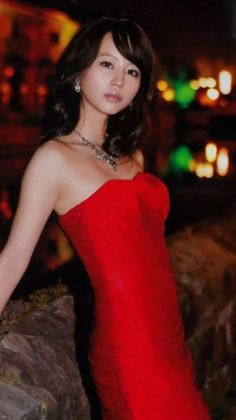 Maki Horikita Japanese Sexy, Japanese Girl, Adults Only, Nice Body, Evening Dresses, Strapless Dress, Actresses, Guys, Lady