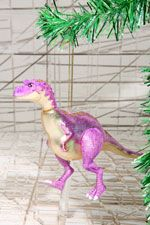 Pink Dino Ella Christmas Decoration