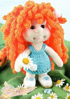 кукла с рыжими кудряшками. Обсуждение на LiveInternet - Российский Сервис Онлайн-Дневников