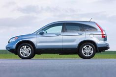 We're comparing two popular used SUVs, the Toyota and the Honda CR-V, to find out which is better. Used Suv, Used Cars, Honda Crv, Cr V, Ny Times, Subaru, Toyota, Automobile, Good Things