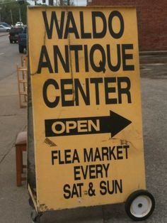 Waldo Antique Center- KC Located at 226 W. 75th Street, Wornall at 75th. They are open every Saturday & Sunday from 10am-5pm. They feature a variety of vendors with antiques and collectibles, books, clothing, furniture, hobbies, jewelry, stamps/coins,tools,toys, militaria, vinyl records, classic automobile memorabilia, and new and used merchandise. For more information, contact David Boote at 816.333.3233, or via E-Mail: waldoantiques@yahoo.com.