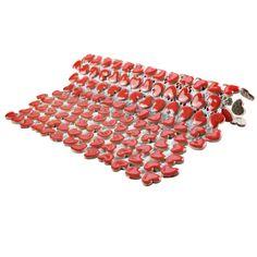 EliteTile Valentine x Ceramic Mosaic Tile Online Tile Store, Tiles Online, Ceramic Mosaic Tile, Mosaic Glass, Best Floor Tiles, Unique Tile, Outdoor Shade, Encaustic Tile, Shades Of Red