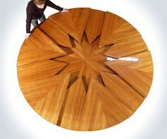 inspiring ideas expanding round dining table. Fletcher Capstan  World s Coolest Expandable Table TableRound Dining 30 Extendable Tables Reception rooms Floor space and Snug