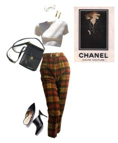 """80s babe"" by meowmcsofi ❤ liked on Polyvore featuring vintage, coach, 80s and mules"