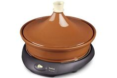 Tajine Tefal : Electric earthenware Tajine that perfectly combines modern technology and authenticity. Crepe Maker, Cooking Appliances, Kitchen Equipment, Cooking Tools, Food, Garden Pots, Party, Products, Home