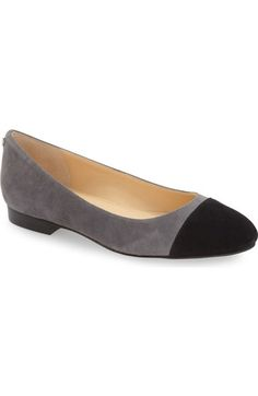 Ivanka Trump 'Jocelyn' Cap Toe Flat (Women) available at #Nordstrom