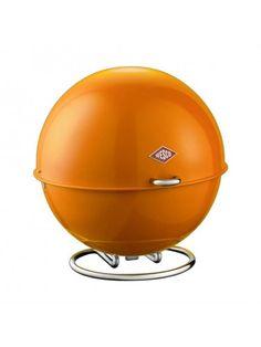 Designer housewaeres - Wesco Superball Orange Storage Bin