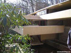 Frank Lloyd Wright's Fallingwater, Ohiopyle, PA