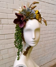 DIY Tutorial for a Floral Centerpiece with Mannequin Heads – Mannequin Madness