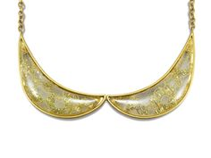 Good Girl Necklace Gold Lace Peter Pan Collar Fashion Jewelry by Bienaimebeaute on Etsy
