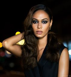 Shooting Joan Smalls for Estee Lauder today on the blog! #TheEsteeEdit