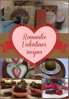 Are you looking for a delicious, romantic dessert for this Valentines? Try one of these sumptuous recipes...sure to please!