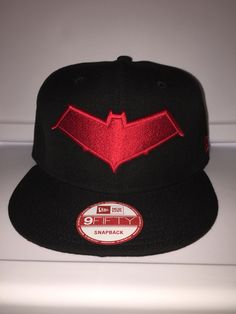 super popular 6c789 92111 New era DC comics Redhood symbol front  amp  back snapback Red Hood Jason  Todd,