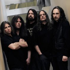 "American progressive metal band Symphony X will be embarking on a headlining tour of Europe at the beginning of Band guitarist Michael Romeo said - ""We Metal Music News, Heavy Metal Music, Music Stuff, My Music, Michael Romeo, Symphony X, 80s Hair Bands, Symphonic Metal, Band Photography"