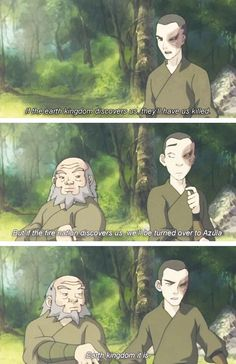 Zuko and Iroh made me so happy throughout the entire show XD