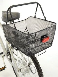 Bike Baskets - Axiom Market LX Rear Basket ** See this great product.
