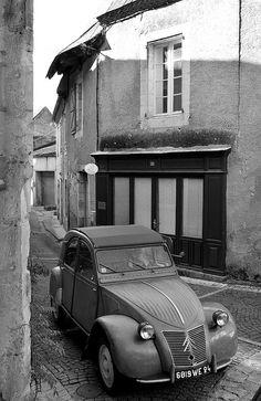 Citroen 2cv 1954 Un amour de voiture :-)