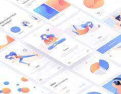 """Check out this @Behance project: """"The Mindfulness App"""" https://www.behance.net/gallery/60638111/The-Mindfulness-App"""
