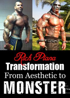 Rich started bodybuilding since a teenager and we must admit that he had a good aesthetic feature. Years later covered in ink he obviously put on more size as you're about to see.