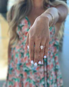 Elegant Engagement Rings, Pear Shaped Engagement Rings, Engagement Sets, Designer Engagement Rings, Rose Gold Engagement Ring, Engagement Ring Settings, Pear Shaped Diamond, Halo Diamond, Halo Collection