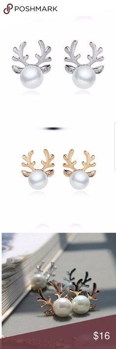 5 for $25 Deer Antler Stud Earrings Deer Antler Stud Earrings Jewelry Earrings