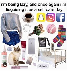 Lazy Outfits, Tumblr Outfits, Outfits For Teens, Cute Outfits, Aesthetic Fashion, Aesthetic Clothes, Estilo Goth Pastel, Teen Fashion, Fashion Outfits