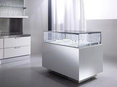 Vetrina refrigerata a isola / per pasticceria GEM Oscartek