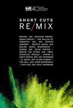 . TIFF short cuts re / mix (2015)