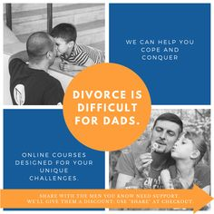 Share with the men you know need support and we'll give them 10% off our online divorce support groups. • • • #onlinetherapy #teletherapy #wehaveyourback #divorce #seperation #divorceishard #dad #coparenting #relationships #marriage #divorcesupport #divorcehelp #divorcesucks #lifeafterdivorce #healing #family #divorceddad #transformthroughtherapy Divorce Online, Emotionally Exhausted, Coparenting, Online Group, After Divorce, Online Support, Relationships, Dads, Therapy