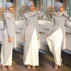 Hijab dress from @dressaddict_da by Basma K